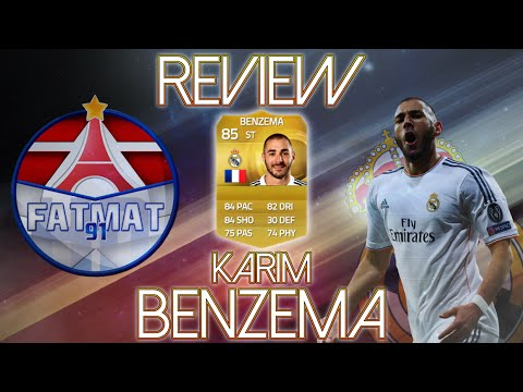 FUT15 | Player Review | Karim Benzema (BU : 85) ! [FR]