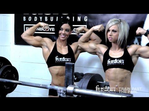 Behind the Scenes Photoshoot with Jess Martin and IFBB Pro Jodi Boam.