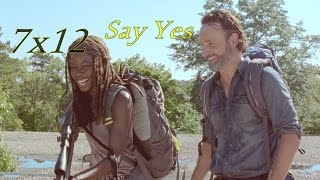 The Walking Dead || Say Yes