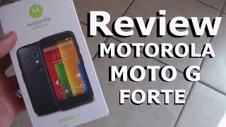Review Motorola Moto G Forte | Android Evolution