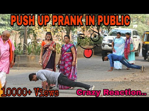 Push Up Prank | Push Up Prank In Public | Push Up Prank On Girls | Prank In India | Prankholic |