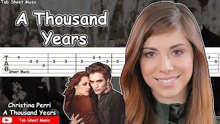 Christina Perri - A Thousand Years Guitar Tutorial
