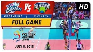 PVL RC Season 2 - WD: Cool Smashers vs. High Flyers | Full Game | 2nd Set | July 8, 2018