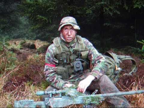 Sniper Skulls Camo Airsoft L96 Sniper Camo Extras