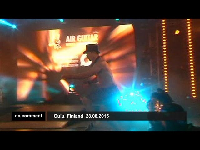 Finland : Air Guitar Contest - no comment