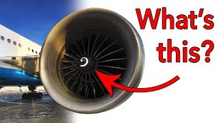 What is that SPIRAL in the Jet Engine?