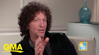 'GMA' Hot List: Howard Stern reflects on his friendship with George Stephanopoulos