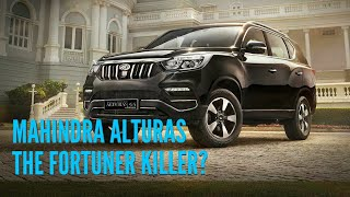 Mahindra Alturas SUV 2018 - Launch Date, Price & Features - Upcoming SUV Cars in India