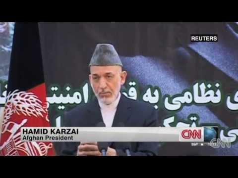 Karzai, angry over Taliban's Qatar office, quits peace, security talks with US