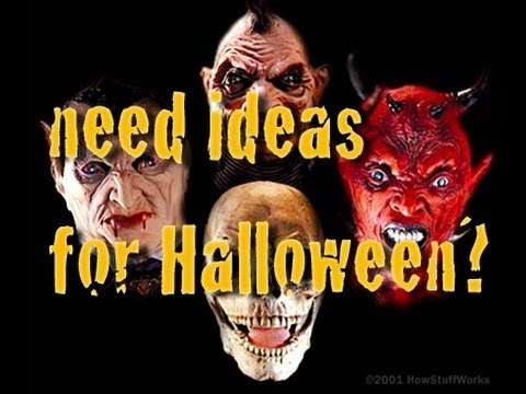 Need Ideas for Halloween?
