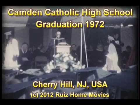 Camden Catholic High School Graduation 1972