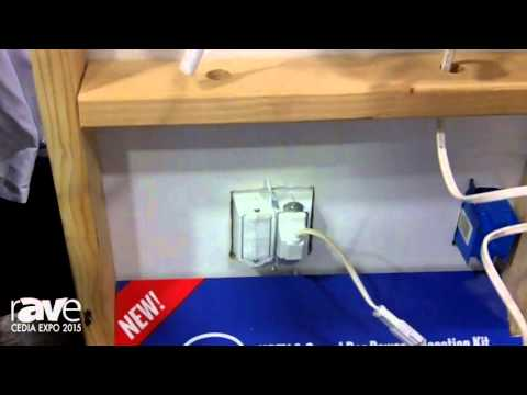 CEDIA 2015: MIDLITE Products Showcases Power Jump IC Kit, A Power Relocation Kit