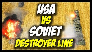 ► World of Tanks: USA vs USSR - T110E3 vs Object 268 Tank Destroyer Line - Face Off #19