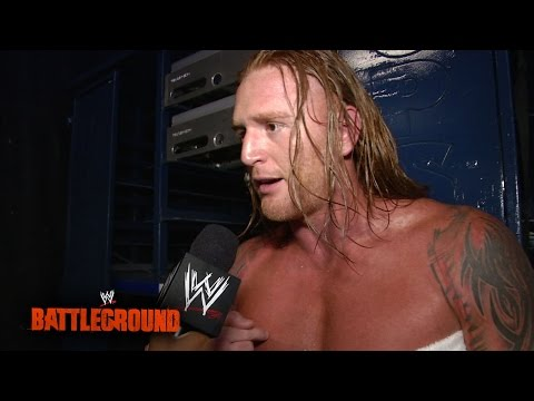 Heath Slater vows to make a name for himself: WWE Battleground 2014