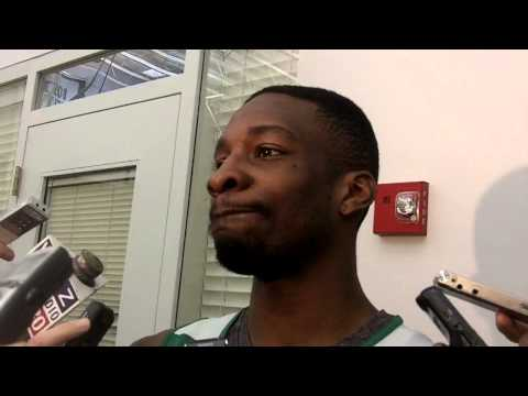 ESPN Boston: Jeff Green at practice (04.15.13)