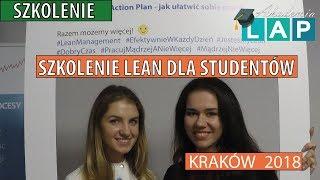👩🎓Szkolenie Lean dla studentów - Kraków 2018