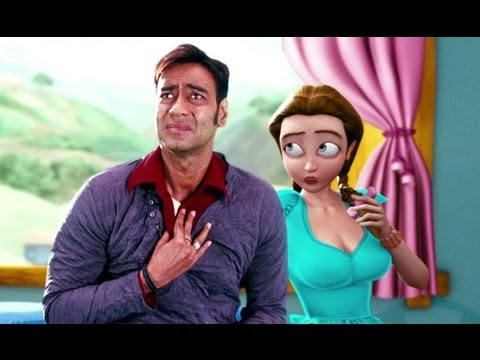 Ajay Devgn Is Lost In The World Of Toonpur - Toonpur Ka Super Hero