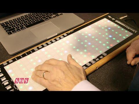 Roger Linn Design - LinnStrument MIDI Controller NAMM 2015