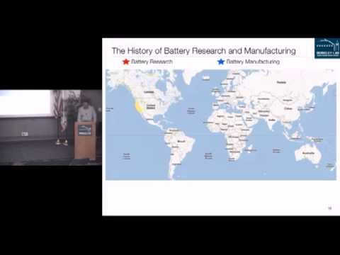 Earth Week 2013 - Venkat Srinivasan: Electric Car In Your Future?
