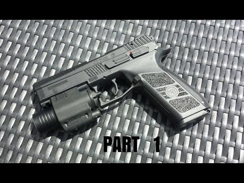 ASG/KJW CZ P09 DUTY Review Part 1 [Airsoft]