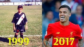 Coutinho - Transformation from 7 to 25 Years Old