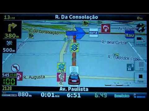 Atualização de GPS - iGO8 com Mapa Brazil Novembro/2012 e Radares Atualizados