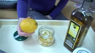 Aceite de limón para la celulitis y manchas. Lemon oil for blemishes, cellulite. ECODAISY