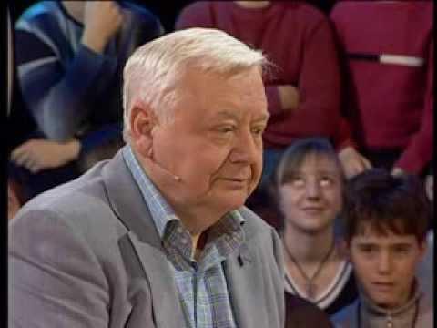Олег Табаков в программе Сто вопросов к взрослому.