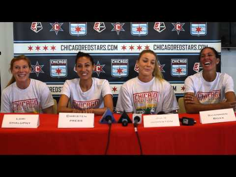 Red Stars World Cup Champions Press Conference 7/15/2015