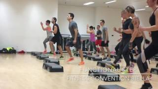 """ALESSANDRO MUÓ - """"FUNCTIONAL STEP"""" @ FITNESS CONVENTION BIELLA"""