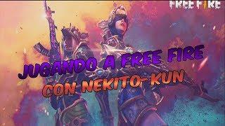 JUGANDO FREE FIRE A LO MANCO CON NEKO KUN | GUIDOVENNEK