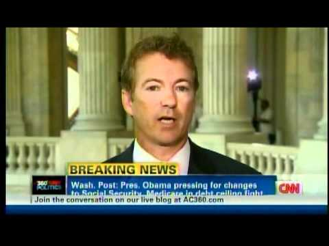 Sen. Rand Paul on CNN AC360 w/ John King - 07/06/11