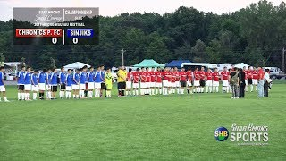 【SUAB HMONG SPORTS】  Chronics Premier FC vs Sinjiks Championship Soccer Game