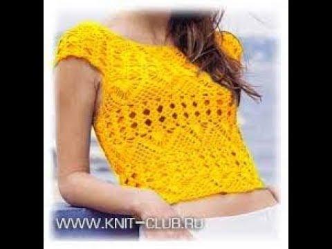 Вязание Крючком - ТОП - 2019 / Knitting Crochet Top / Strickhaken oben