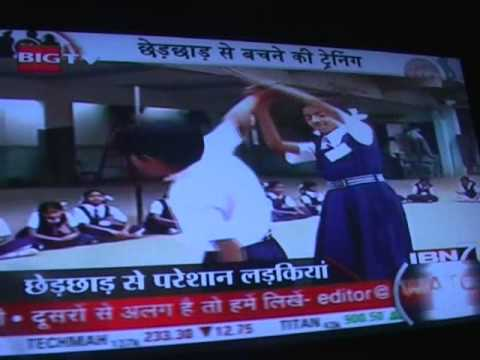 Ibn7 News Channel Interview Of Sensei Ishvar Solanki Palanpur - North Gujarat video