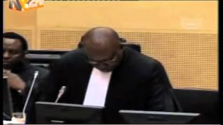 President Kenyatta's Defence Team Asks That ICC Case Be Dropped