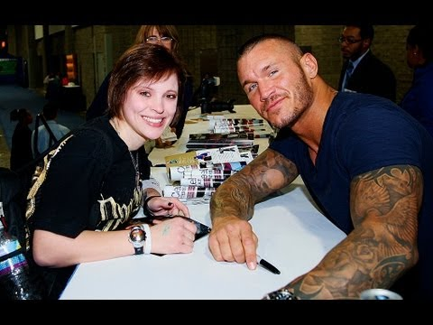 The @RandyOrton Fan Experience: (The Washington Auto Show 2012)
