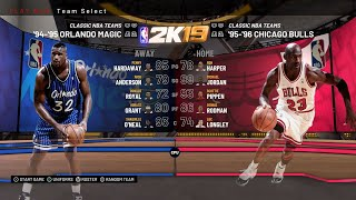 NBA 2K19 - Every Classic Team In Play Now - HD