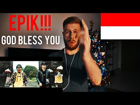 (EPIK!!) GOD BLESS YOU - ATTA HALILINTAR ft. ELECTROOBY (Music Video) // INDONESIAN MUSIC REACTION