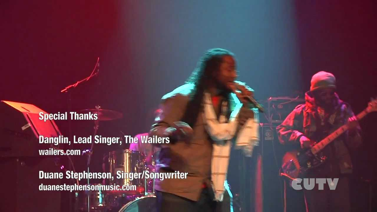The Wailers and Duane Stephenson in Montreal Nov 2011 Interviews with Danglin and Duane Stephenson
