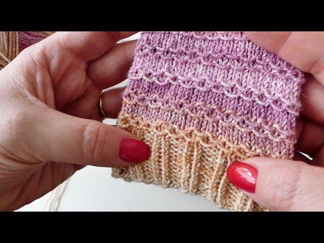 Strickmuster verkettet 50 shades of wool