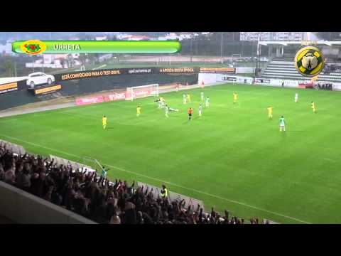 Gola�o de URRETA! (FC Pa�os de Ferreira, 4 - Vit. Set�bal, 1)