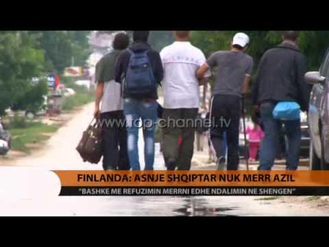 Finlanda: Asnjë shqiptar nuk merr azil - Top Channel Albania - News - Lajme