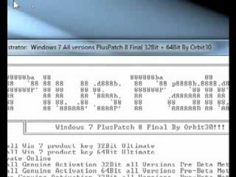 how to bypass windows 7 activation build 7601