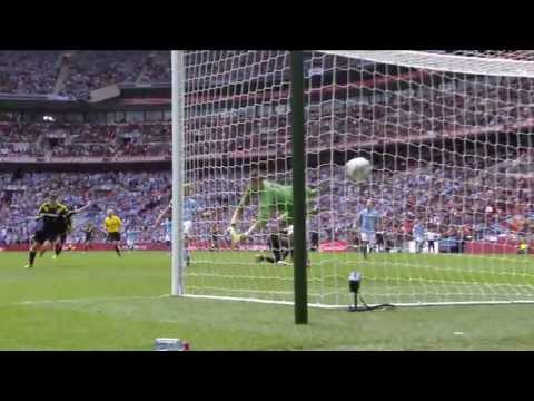 Brilliant Demba Ba goal Manchester City vs Chelsea 2-1, FA Cup Semi Final
