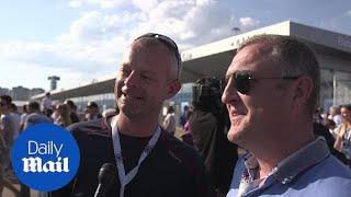 England fans in Nizhny Novgorod react to England's 6-1 victory - Daily Mail