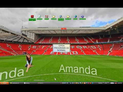MUFC, Manchester United's Theatre of Dreams Interactive Desktop Wallpaper