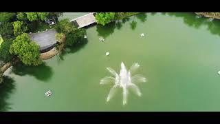 Lumpini Park Fountain