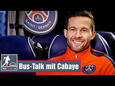 Yohan Cabaye: PSG-Mittelfeldmotor ist gelassen im Bus