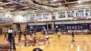 Ashley Bertling BHS VB game clip 9-25-18